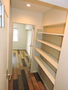 3階造作棚