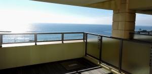 オープンバルコニーからの眺望1